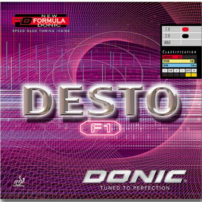 Donic Desto F1 Table Tennis Rubber Donic Table Tennis
