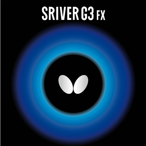 Butterfly Sriver G3 FX Table Tennis Rubber