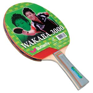 Butterfly Wakaba 3000 Table Tennis Paddle