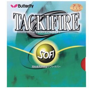 Butterfly Tackifire C SOFT Table Tennis Rubber